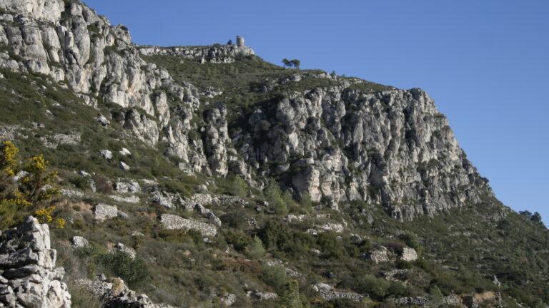 El Puig Cabré des de la Riba
